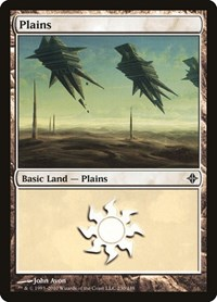 Plains (230), Magic: The Gathering, Rise of the Eldrazi