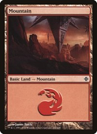 Mountain (241), Magic: The Gathering, Rise of the Eldrazi