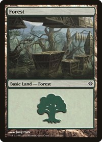 Forest (245), Magic: The Gathering, Rise of the Eldrazi