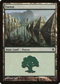 Forest (246), Magic: The Gathering, Rise of the Eldrazi