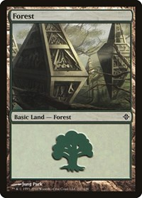 Forest (247), Magic: The Gathering, Rise of the Eldrazi