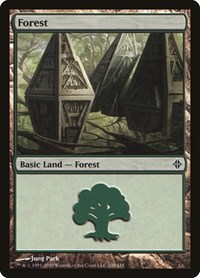 Forest (248), Magic: The Gathering, Rise of the Eldrazi