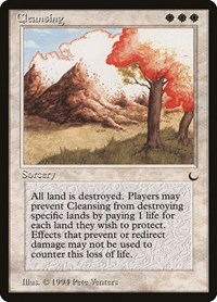 Cleansing, Magic: The Gathering, The Dark