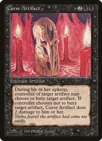Curse Artifact, Magic, The Dark