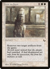 Dust to Dust, Magic: The Gathering, The Dark