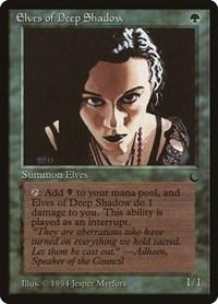 Elves of Deep Shadow, Magic, The Dark