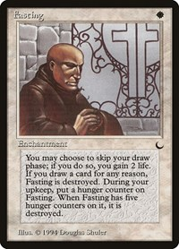 Fasting, Magic: The Gathering, The Dark