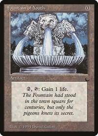Fountain of Youth, Magic, The Dark