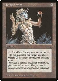 Living Armor, Magic, The Dark