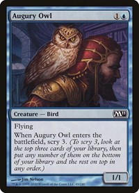 Augury Owl, Magic: The Gathering, Magic 2011 (M11)
