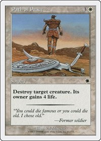 Path of Peace, Magic: The Gathering, Starter 1999