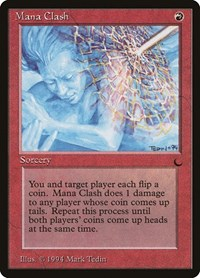 Mana Clash, Magic: The Gathering, The Dark