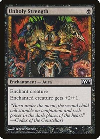 Unholy Strength, Magic: The Gathering, Magic 2011 (M11)