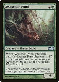 Awakener Druid, Magic: The Gathering, Magic 2011 (M11)