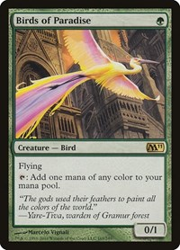 Birds of Paradise, Magic: The Gathering, Magic 2011 (M11)