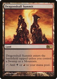 Dragonskull Summit, Magic: The Gathering, Magic 2011 (M11)