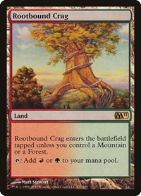 Rootbound Crag, Magic: The Gathering, Magic 2011 (M11)