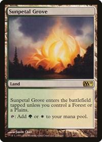 Sunpetal Grove, Magic: The Gathering, Magic 2011 (M11)