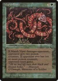 Marsh Viper, Magic: The Gathering, The Dark