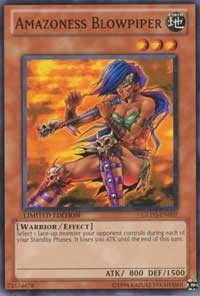 Amazoness Blowpiper, YuGiOh, Gold Series 3