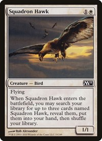 Squadron Hawk, Magic: The Gathering, Magic 2011 (M11)
