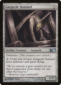 Gargoyle Sentinel, Magic: The Gathering, Magic 2011 (M11)