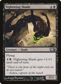 Nightwing Shade, Magic: The Gathering, Magic 2011 (M11)