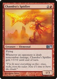 Chandra's Spitfire, Magic: The Gathering, Magic 2011 (M11)