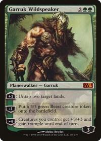 Garruk Wildspeaker, Magic: The Gathering, Magic 2011 (M11)