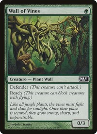 Wall of Vines, Magic: The Gathering, Magic 2011 (M11)