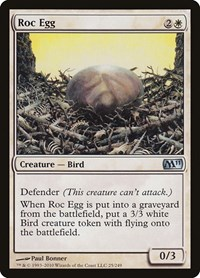Roc Egg, Magic: The Gathering, Magic 2011 (M11)