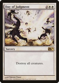 Day of Judgment, Magic: The Gathering, Magic 2011 (M11)