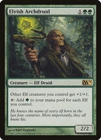 Elvish Archdruid, Magic: The Gathering, Magic 2011 (M11)