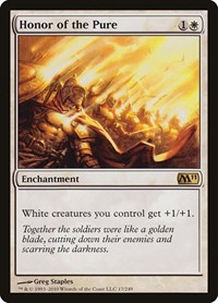 Honor of the Pure, Magic: The Gathering, Magic 2011 (M11)