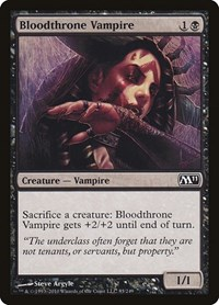 Bloodthrone Vampire, Magic: The Gathering, Magic 2011 (M11)