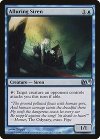 Alluring Siren, Magic: The Gathering, Magic 2011 (M11)