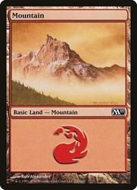 Mountain (242), Magic: The Gathering, Magic 2011 (M11)
