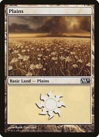 Plains (233), Magic: The Gathering, Magic 2011 (M11)