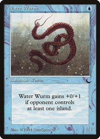 Water Wurm, Magic: The Gathering, The Dark