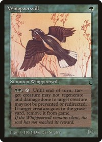 Whippoorwill, Magic, The Dark