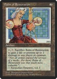 Balm of Restoration, Magic: The Gathering, Fallen Empires