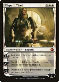 Elspeth Tirel, Magic: The Gathering, Scars of Mirrodin