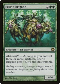 Ezuri's Brigade, Magic: The Gathering, Scars of Mirrodin