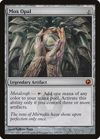 Mox Opal, Magic: The Gathering, Scars of Mirrodin