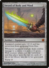 Sword of Body and Mind, Magic: The Gathering, Scars of Mirrodin