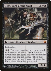 Geth, Lord of the Vault, Magic: The Gathering, Scars of Mirrodin