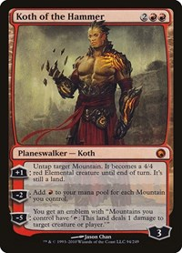 Koth of the Hammer, Magic: The Gathering, Scars of Mirrodin