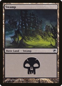 Swamp (238), Magic: The Gathering, Scars of Mirrodin