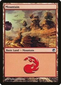 Mountain (245), Magic: The Gathering, Scars of Mirrodin