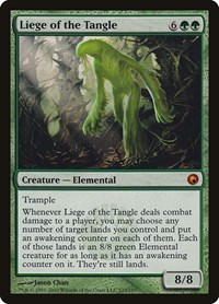 Liege of the Tangle, Magic: The Gathering, Scars of Mirrodin